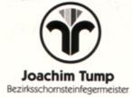 Bezirksschornsteinfegermeister J. Tump